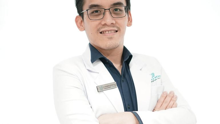 Dr. Christopher Andrian, M. Gizi, Sp. Gk